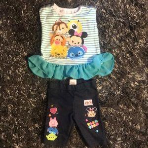 Disney Tsum Tsum outfit  size 3T